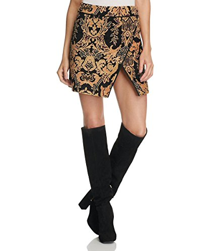 (Free People Winter Warrior Brocade Mini Skirt)