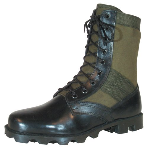 09 Boots - Fox Outdoor Products Vietnam Jungle Boot, Olive Drab, Size 9