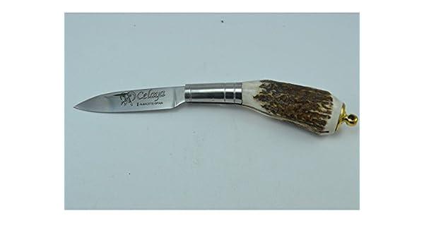 Navaja Celaya Gallega Llavero Ciervo 6 cm: Amazon.es: Handmade