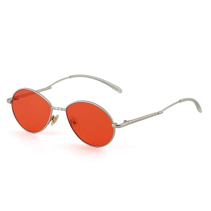 NIFG Gafas de sol rojas de la calle de las gafas de sol de ...