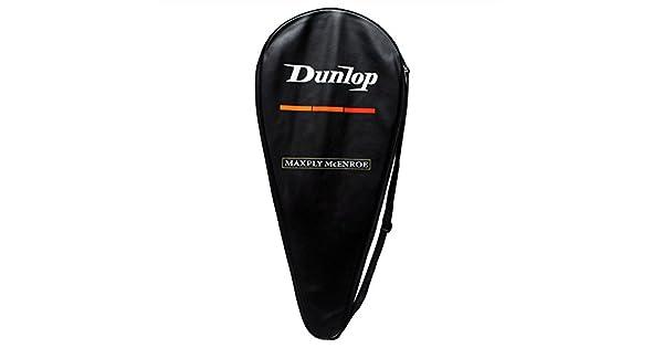 Amazon.com: Dunlop maxply McEnroe Cover Raqueta de tenis ...