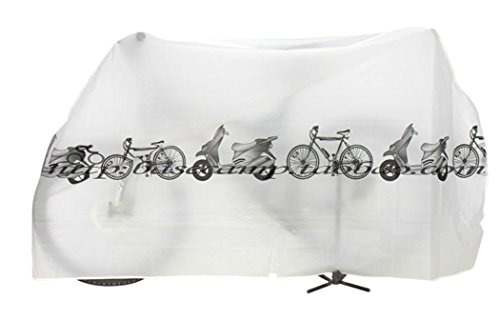 Koson-Man White Waterproof Dustproof Bicycle Cover - Electra Bicycle Covers