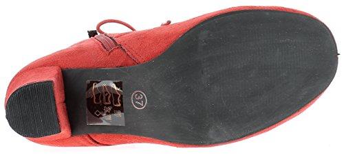 HIRSCHKOGEL Damen Stiefelette 3000503 Rot