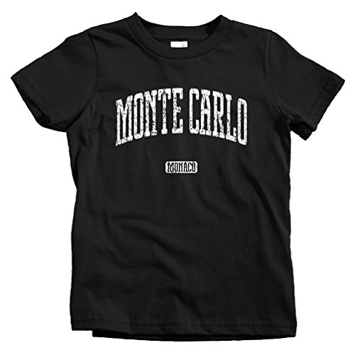 Smash Vintage Kids Monte Carlo T-Shirt - Black, Youth X-Large (Grand Royale Poker)