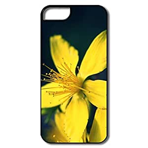 Amazing Design Yellow Flower IPhone 5/5s Case For Family
