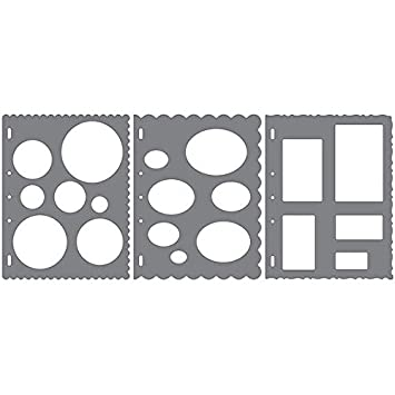 Fiskars 497570973-Pack No. 1 ShapeTemplate Tool Fiskars School Office and Craft Division