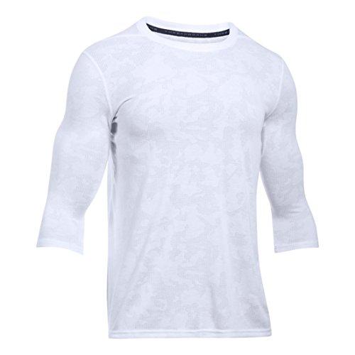 Under Armour Men's Thread Borne Utility T-Shirt, White /Graphite, Medium