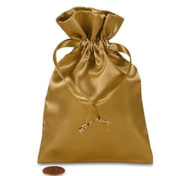 Amazon.com: Oro viejo funda de satén 4