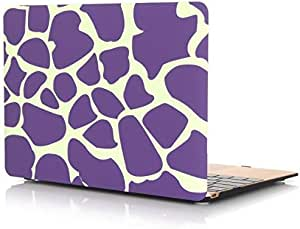 Strong Product Rubberized Case For Macbook Pro Retina 12 Inch Purple