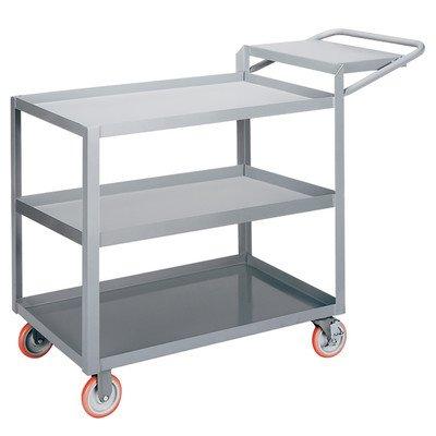 24'' x 64'' 3-Shelf Utility Cart with Writing Shelf by Little Giant USA