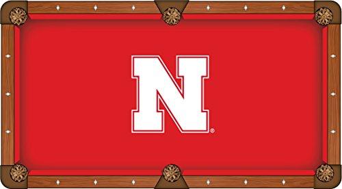 Holland Bar Stool Co. Nebraska Cornhuskers HBS Red with White Logo Billiard Pool Table Cloth (8')