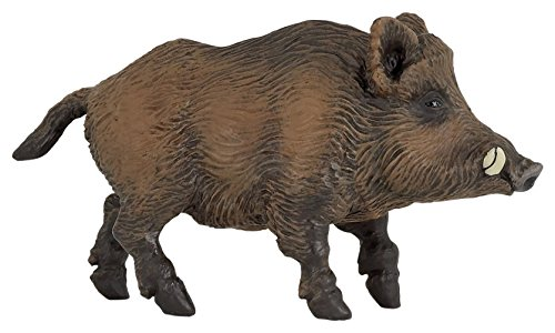 Papo Wild Boar Figure, Multicolor