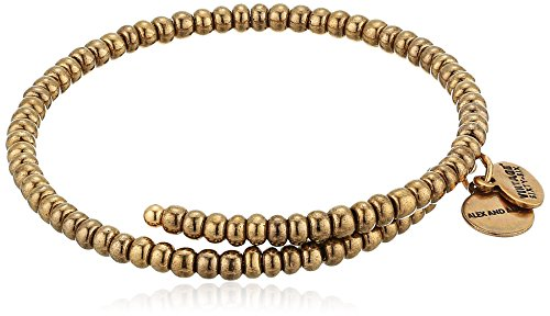 Alex and Ani Women's Primal Spirit Wrap Wrap Bracelet, Woodland, Expandable