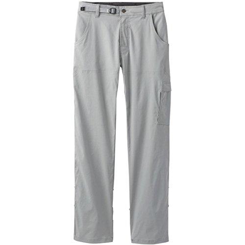 prAna Men's Stretch Zion Inseam Pants, Grey, Size 31 - Nylon Stretch Trousers