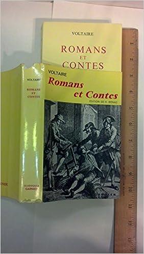 Livre gratuits Romans et Contes: Texte etabli sur l'edition de 1775 (Classiques Garnier) pdf, epub