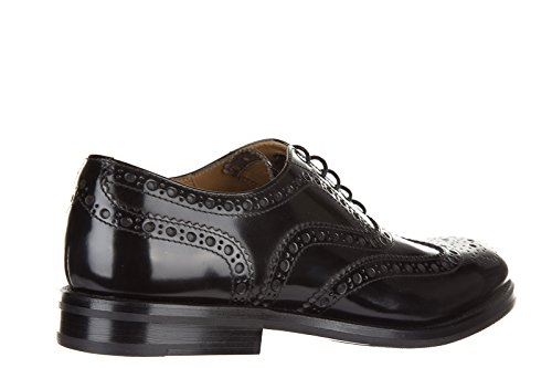 Classiche Nuove CHURCH'S in Nero Donna Stringate Scarpe Brogue Pelle YwEPa