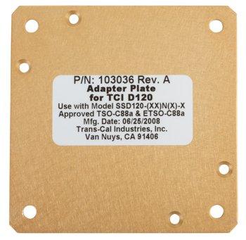 Telex 103036 Nano Adapter Plate / Tci D120