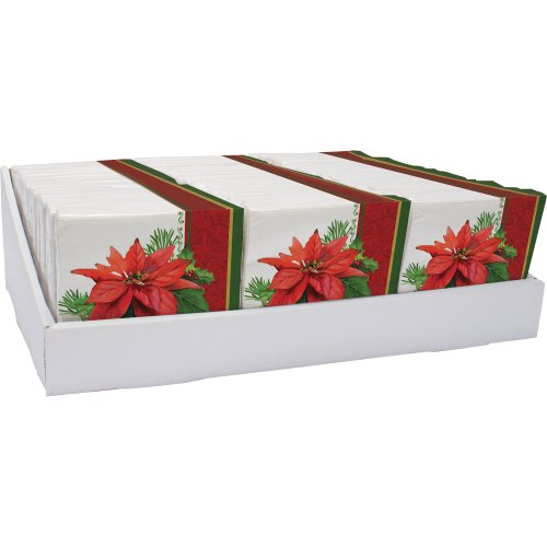 - Creative Converting Holiday Poinsettia Luncheon Napkins (16ct)