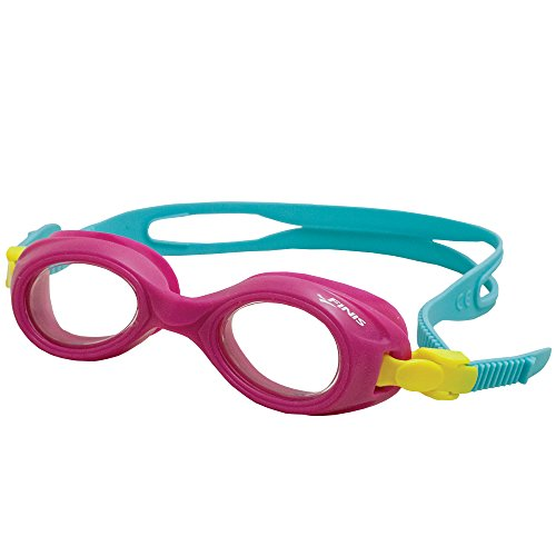 - FINIS Helio Swimming Goggles, Pink/Clear