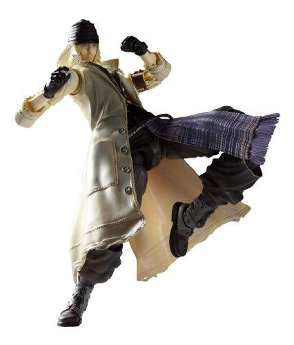 lay Arts Kai Snow Villiers (non-scale painted action figure) (japan import) (Play Arts Kai Snow)