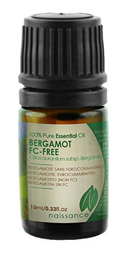Bergamotte Öl, furocumarinfrei - 100% naturreines ätherisches Öl - 10ml