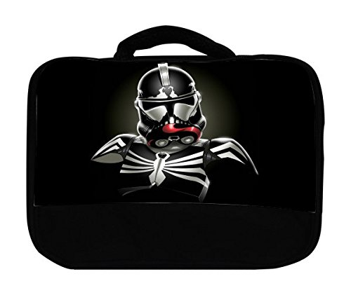 - Abstract Venom Stormtrooper Art Canvas Lunch Bag by MWCustoms