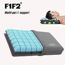 F1F2 快眠枕 枕強力サポート肩こり首こりを防ぐ 頚椎サポート健...