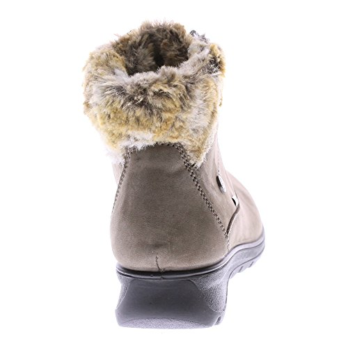 Flexus By Spring Step Da Donna Barra Snow Boot Taupe