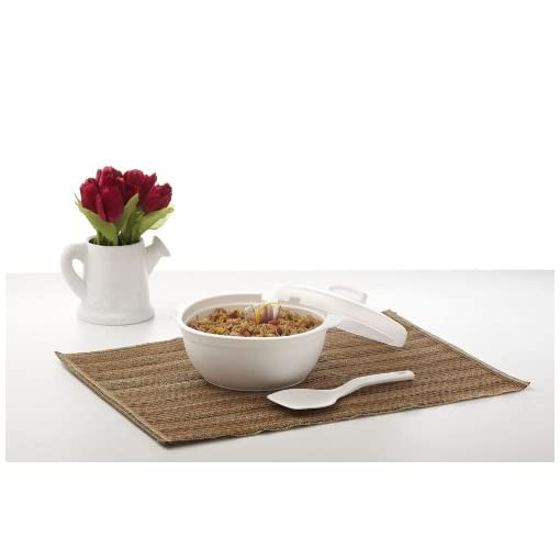 Signoraware Cook N Serve Medium, 1 Litre, White