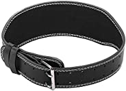 Weightlifting Belt, Artificial PU Leather High Strength Powerlifting Belt for Fitness Training (M)