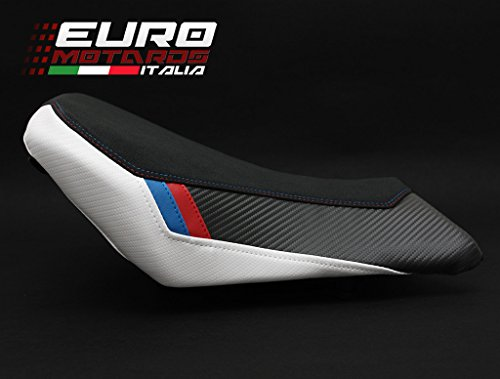 BMW S1000RR 2015-2017 Luimoto Motorsports Suede Seat Cover Set Front & Rear + Gel Pad by Luimoto (Image #3)