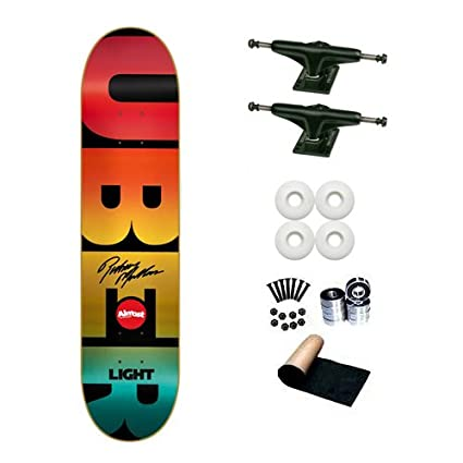 Amazon almost rodney mullen super uber light spectrum 775 almost rodney mullen super uber light spectrum 775 skateboard deck complete aloadofball Choice Image