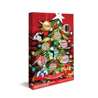 Advent Count Down To Christmas Calendars Madelaine Gourmet Chocolate (Christmas Tree) (Christmas Tree Sampler)
