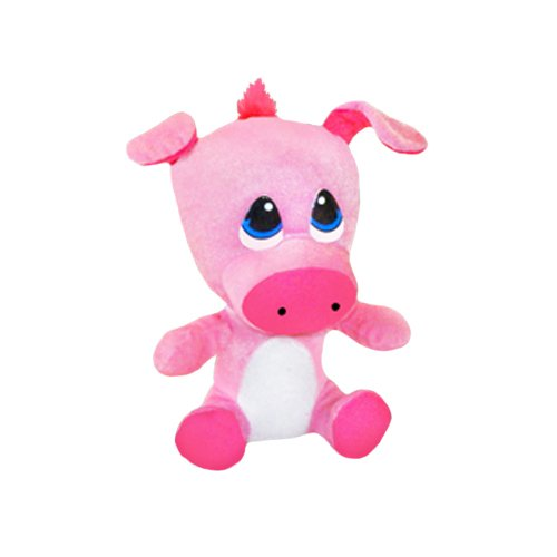 Random ToySource Nog Country The Cow or Pig 15.5 in Plush Collectible Toy Nog Country The Spotted Toad Plush Toy