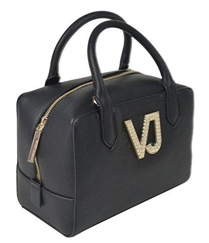 Versace, Borsa a mano donna Nero Nero  27 x 19 x 15