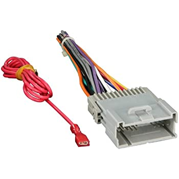 41lmIh5APtL._SL500_AC_SS350_ amazon com aftermarket car stereo radio receiver wiring harness GM Radio Wiring Harness Diagram at crackthecode.co