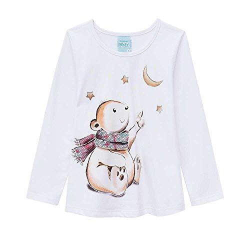 74600b191 Pijama Infantil Feminino Blusa + Calça Kyly 206785.0001.1