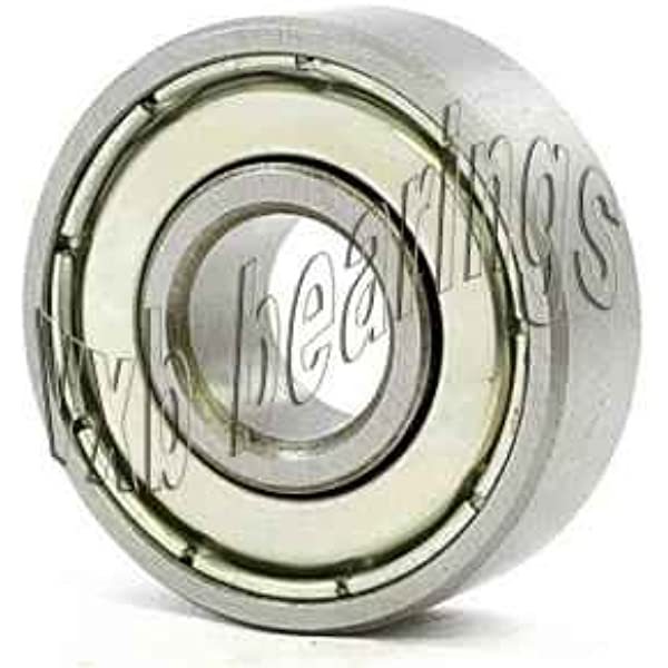 Ochoos S626ZZ S626 10PCS SB626 6x19x6mm Stainless Steel Bearing 626 6196 Free Length: S626 2RS, Diameter: ABEC 5