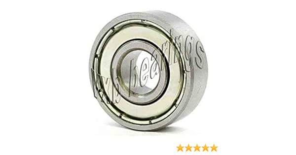 MR6004-2RS 20mm OD 42mm Width 12mm Radial Ball Bearing Double Sealed Bore Dia