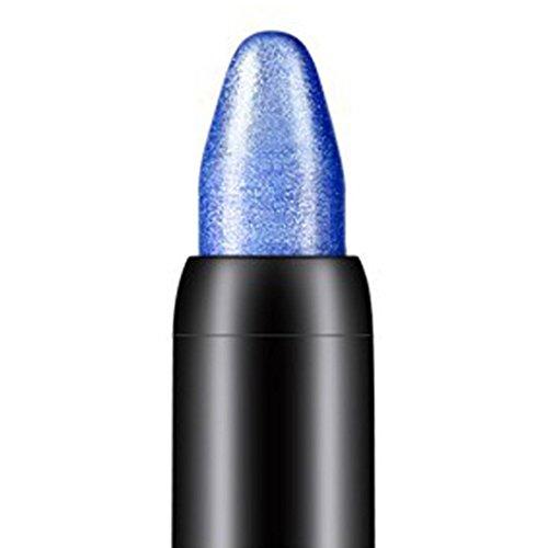 DMZ Best Pro Eyeshadow Makeup - Waterproof Eyeliner Cream Eye Liner Pen Pencil Eye Shadow Gel Makeup (Deep - Shadow Glitters Pencil