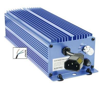 600W Elektrox EVG Vorschaltgerät Schuko Natriumdampflampe Growlampe Pflanzenlicht NDL