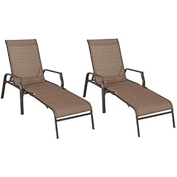 Amazon Com Ulax Furniture Patio Chaise Lounge Folding