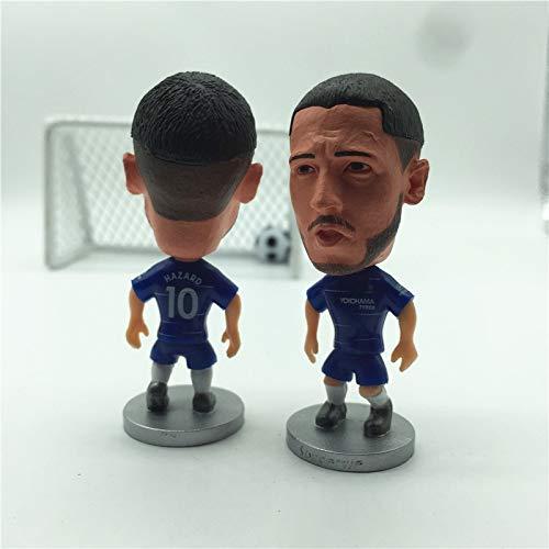 Chelsea 10#Eden Hazard Blue Kit 2019 Season Dolls Figurine  Football Star  Size 2.5 inch