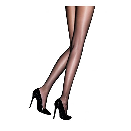 "Charnos Women's 24/7 Gloss Pantyhose - 2 pair pack XL (5'5""-6'0"" 165-183cm, hip 42-48"" 106-122cm) champagne"