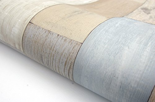 Beachwood Panel Contact Paper Film Vinyl Self Adhesive Peel-stick Removable (HBS451) (Removable Self Adhesive Vinyl)