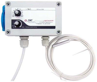 GSE Digital Fancontroller mit Minimahldrezahlregler Klimatechnik Klimasteuerung