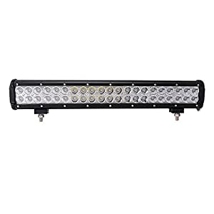 "LED Light Bar, Northpole Light 20"" 126W Waterproof CREE Spot Flood Combo LED Light Bar LED Off Road Lights Driving Fog Light with Mounting Bracket for Off Road, Truck, Car, ATV, SUV, Jeep"