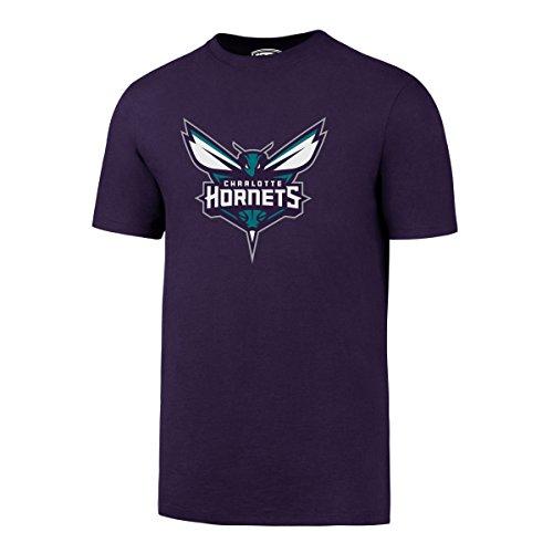 fan products of NBA Charlotte Hornets Men's OTS Rival Tee, Purple, Medium