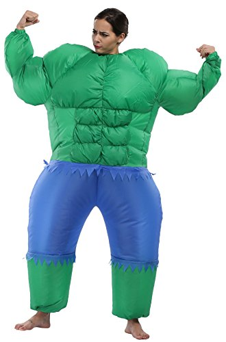 [Caringgarden Unisex Adult Inflatable Costume Fancy Dress Outfit, Giant] (Hulk Costumes Adults)