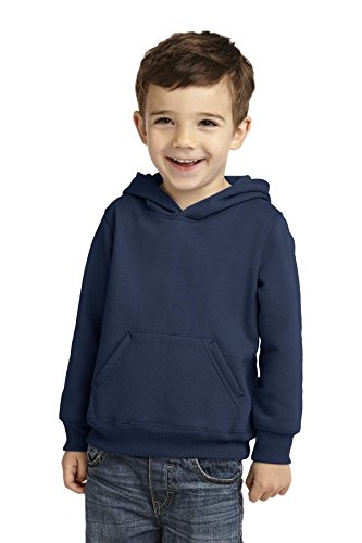 Precious Cargo unisex-baby Pullover Hooded Sweatshirt 4T (Navy Blue Toddler Sweatshirt)